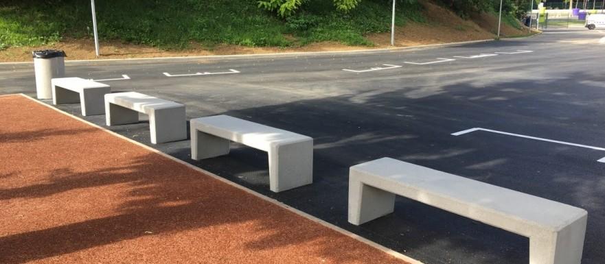 Réalisation de l'entreprise d'aménagement mobilier urbain