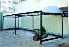 Abri Moto Dome O